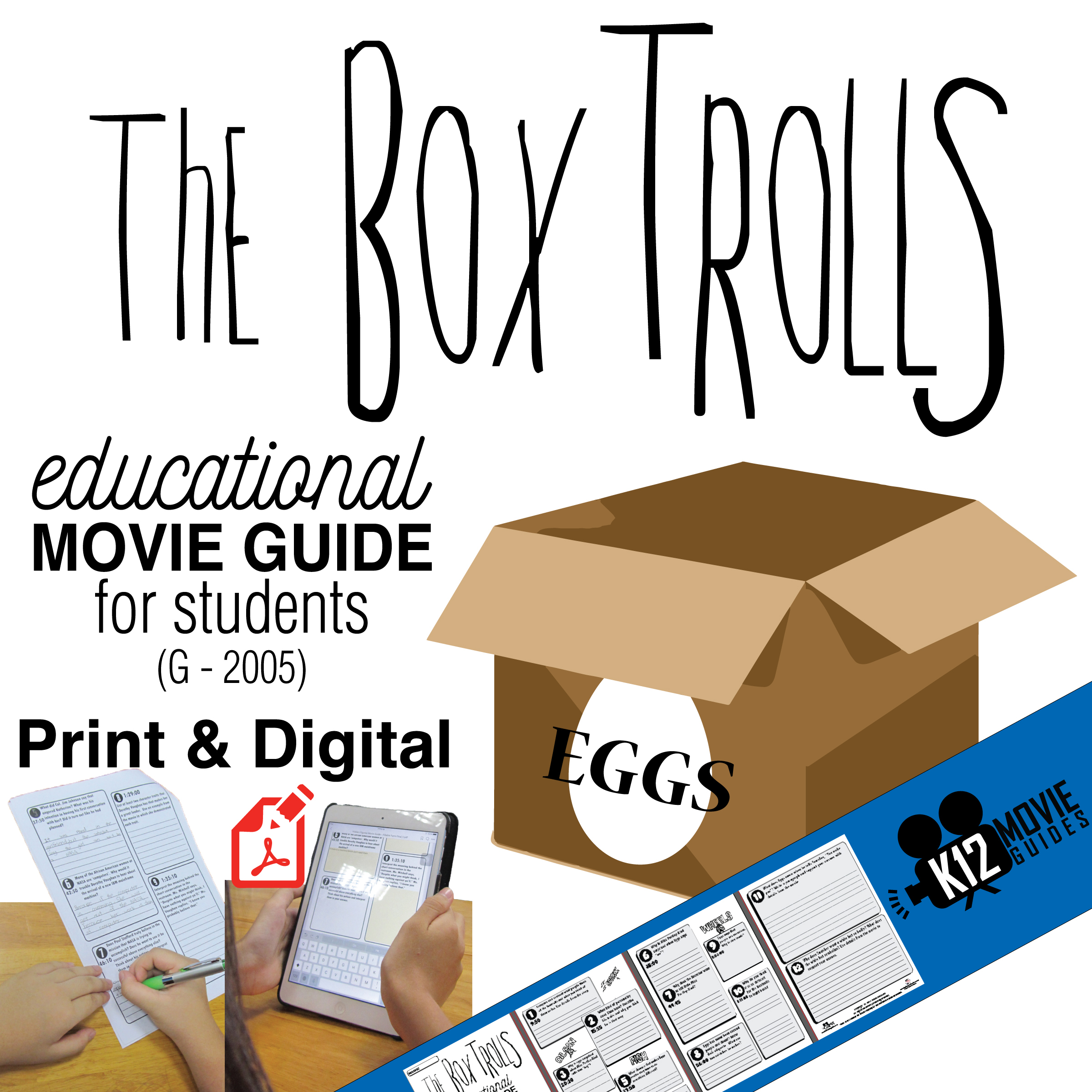 The Boxtrolls Movie Guide - Cover