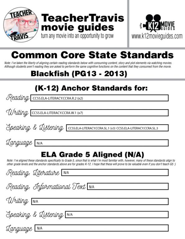 Blackfish Movie Guide | Worksheet | Questions | Google Form (PG13 - 2013) CCSS