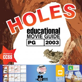 Holes Movie Guide | Questions | Worksheet | Google Classroom (PG - 2003) Cover