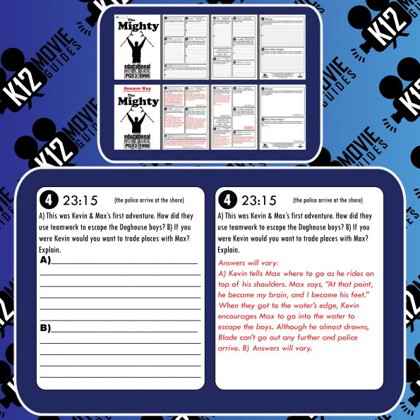 The Mighty Movie Guide | Questions | Worksheet (PG-13 - 1998) Free Sample