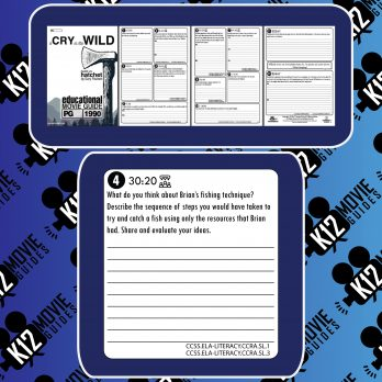 A Cry in the Wild Movie Guide | Questions | Worksheet (PG - 1990) [Hatchet] Free Samples
