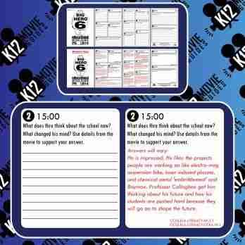 Big Hero 6 Movie Guide | Questions | Worksheet | Google Form (PG - 2014) Free Sample