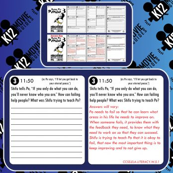 Kung Fu Panda 3 Movie Guide | Questions | Worksheet (PG - 2016) Free