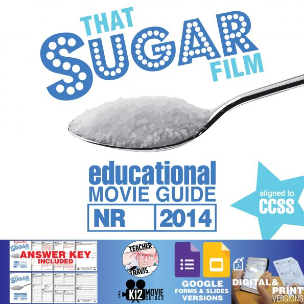 That Sugar Film Movie Guide | Questions | Worksheet | Google Formats (2014) Cover