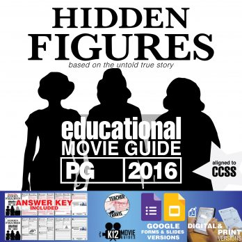 Hidden Figures Movie Guide Cover