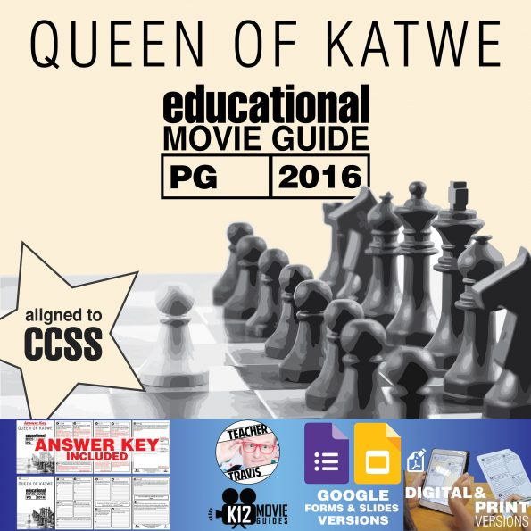 Queen of Katwe Movie Guide   Questions   Worksheet   Google Formats (PG - 2016) Cover