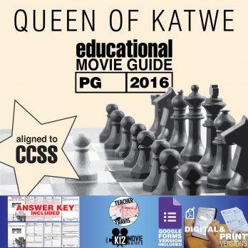 Queen of Katwe Movie Guide | Questions | Worksheet (PG - 2016) Cover