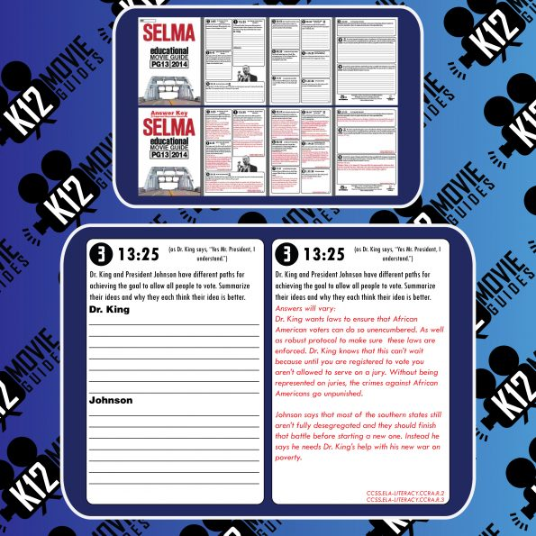 Selma Movie Guide | Questions | Worksheet | Google Forms (PG13 - 2014) Free Sample