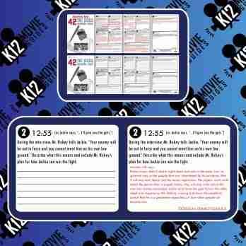 42: Jackie Robinson Movie Guide | Worksheet | Questions | Google (PG13 - 2013) Sample