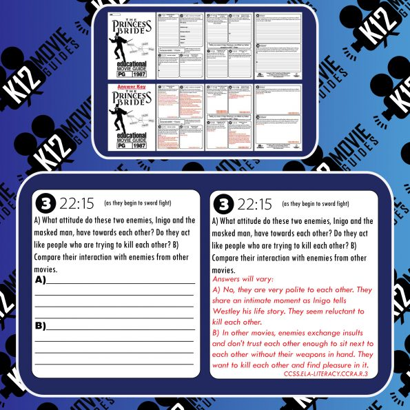 The Princess Bride Movie Guide   Questions   Worksheet   Google Form (PG - 1987) Free Sample
