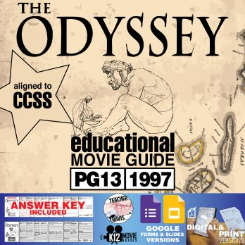 The Odyssey Movie Guide | Questions | Worksheet | Google Formats (PG13 - 1997) Cover