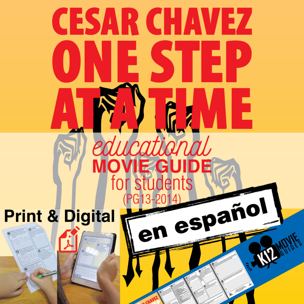 spanish chavez essay Cesar chavez, the head of the united farm workers union, calls for the  born  into a mexican-american family of migrant farm laborers and a.