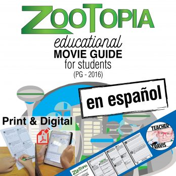Zootopia Movie Guide en Espanol Cover