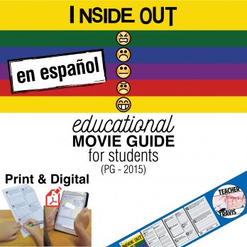 Inside Out Movie Guide en Espanol Cover