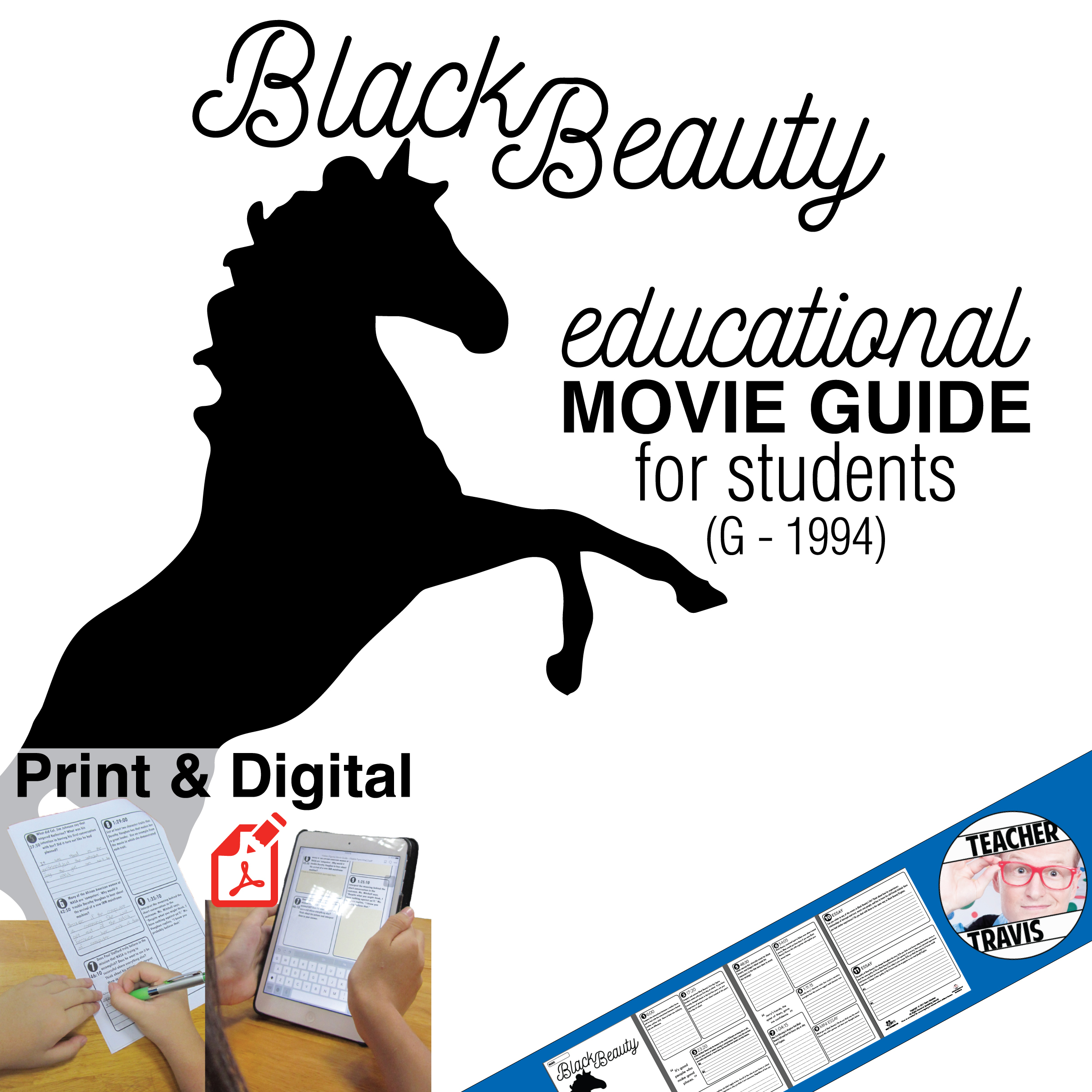 Black Beauty Movie Guide Cover