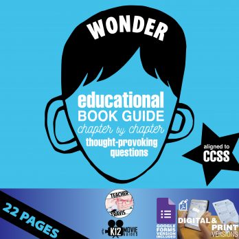 Wonder Book Study Guide - Chapter by Chapter High-Level Questions - Google Form Cover
