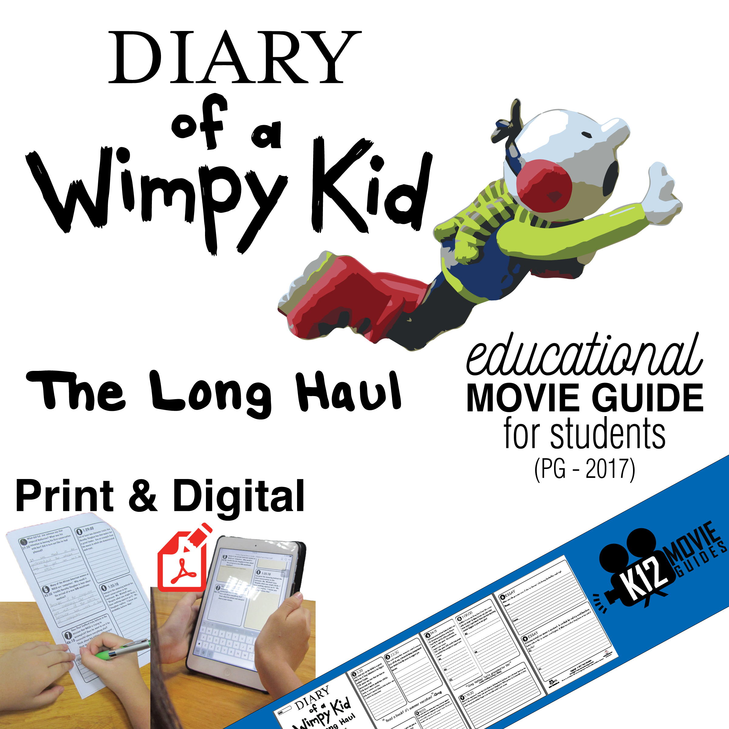 Diary of a Wimpy Kid - The Long Haul Movie Viewing Guide Cover