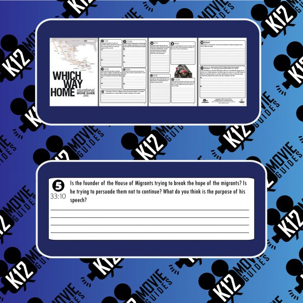 Which Way Home Documentary Movie Guide | Questions | Worksheet (2009) Sample