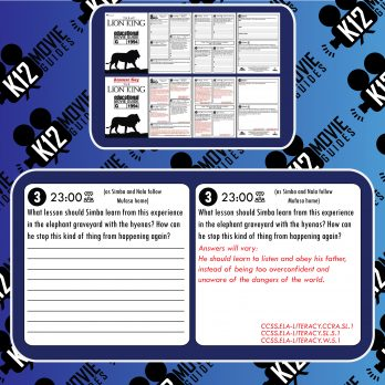 The Lion King Movie Guide   Questions   Worksheet (G - 1994) Free Samples