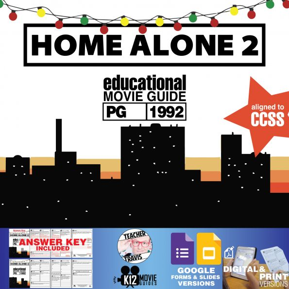 Home Alone 2 Movie Guide | Film Questions | Worksheet (PG - 1992) Cover