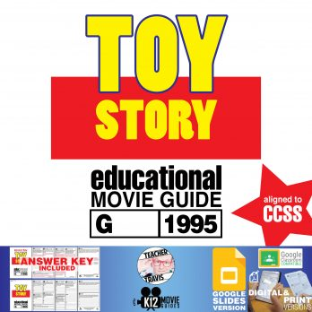 Toy Story Movie Guide | Questions | Worksheet | Google Classroom (G - 1995) Cover