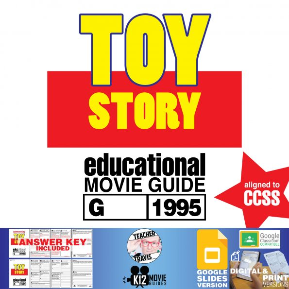 Toy Story Movie Guide   Questions   Worksheet   Google Classroom (G - 1995) Cover