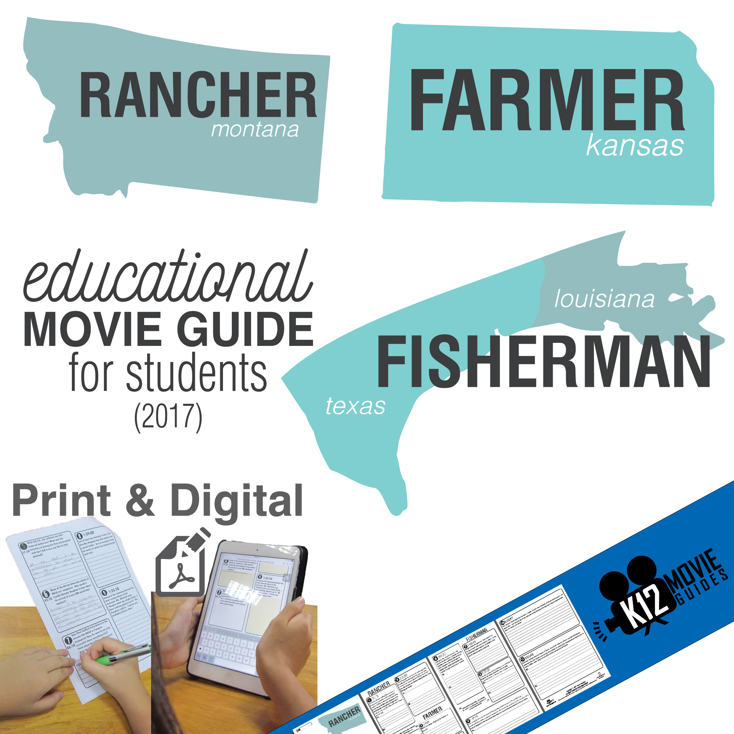 Rancher, Farmer, Fisherman Movie Guide Cover