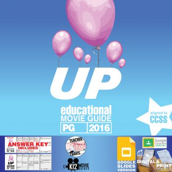 Up Movie Guide   Worksheet   Questions   Google Classroom (PG - 2009) Cover