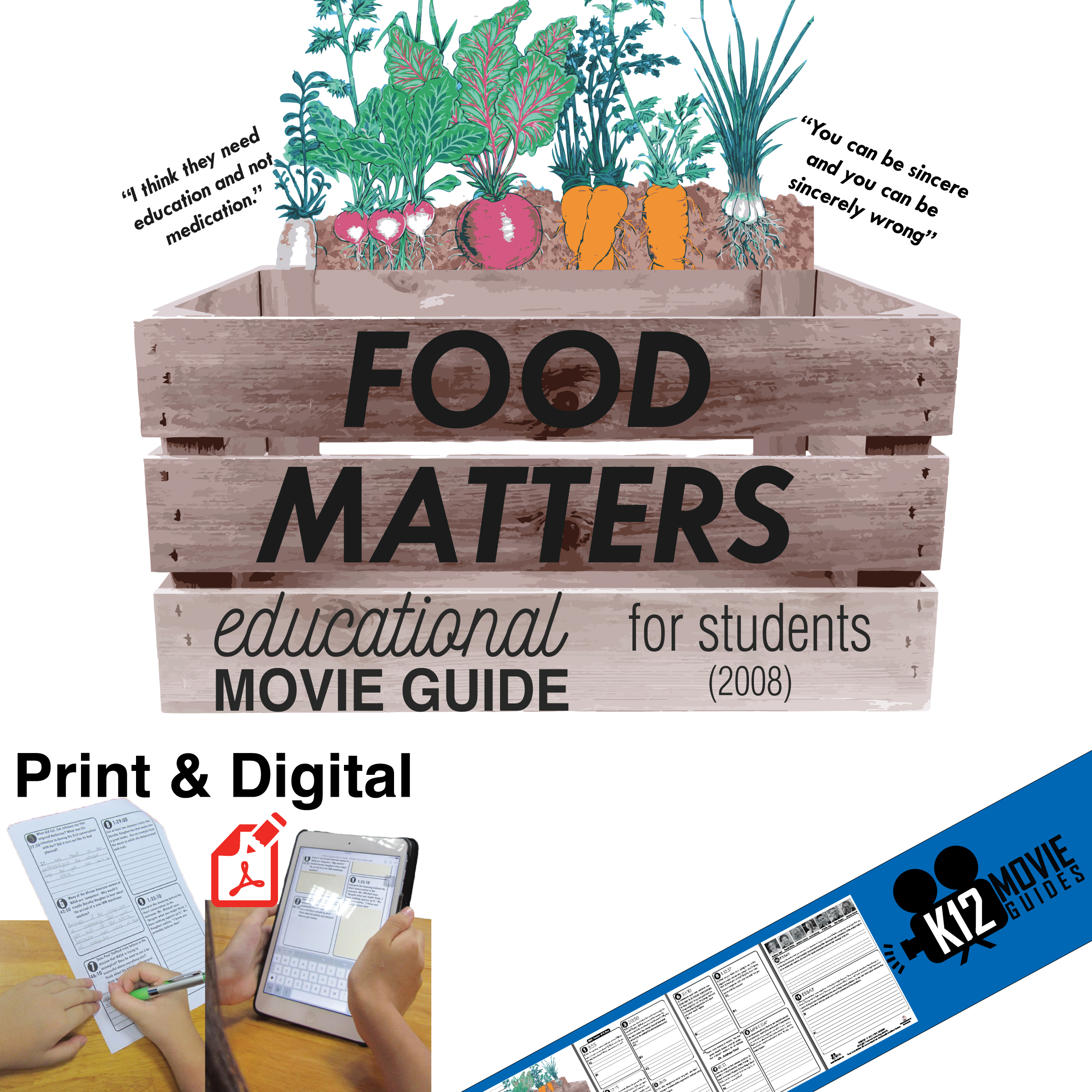 Food Matters Movie Guide (2008) Cover