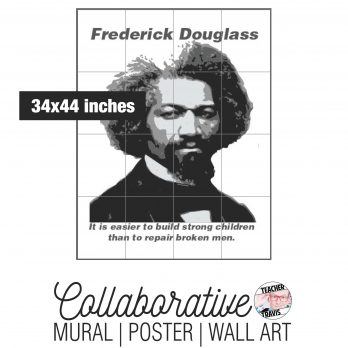 Frederick Douglass Collaborative Mural Cover