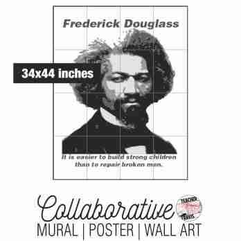 Frederick Douglass Collaborative Mural Cover