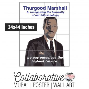 Thurgood Marshall Collaborative Mural