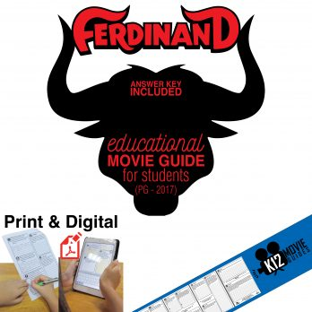 Ferdinand Movie Guide Cover