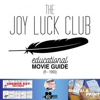 The Joy Luck Club Movie Guide | Film Questions | Worksheet (R - 1993) Cover