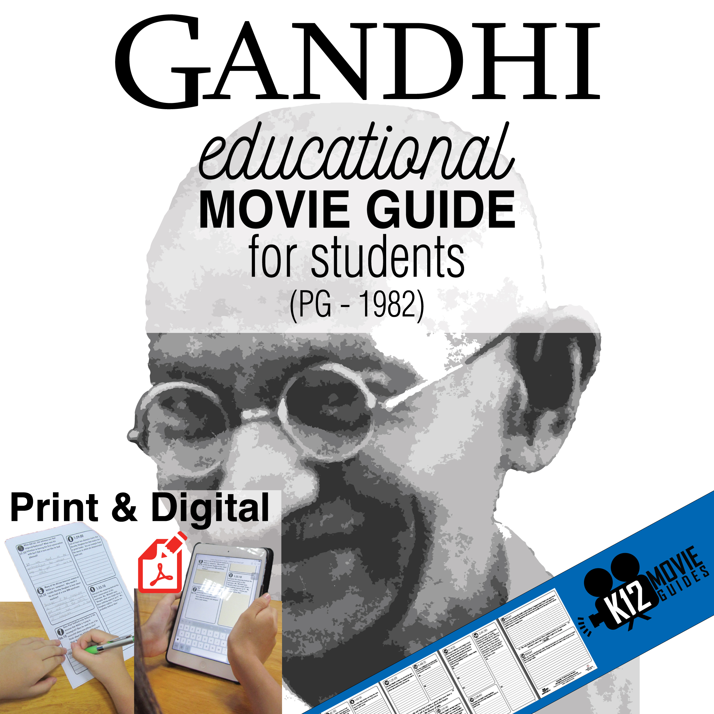 Gandhi Movie Guide Cover