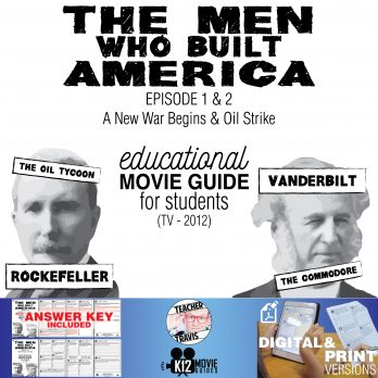 The Men Who Built America - Ep 1 & 2 Movie Guide Cover