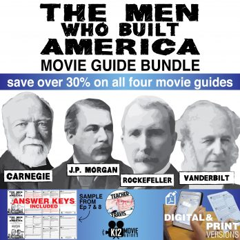 The Men Who Built America - Movie Guide Bundle (TV - 2012) Cover