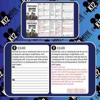 Newsies Movie Guide | Questions | Worksheet | Google Form (PG - 1992) Free Sample