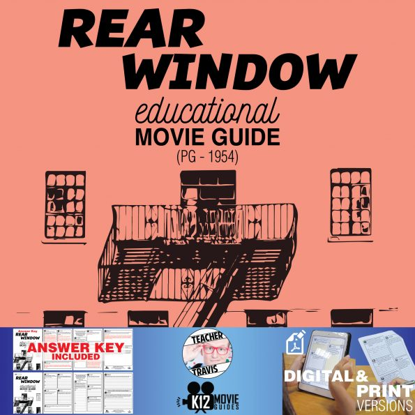 Rear Window Movie Guide | Questions | Worksheet (PG - 1954)