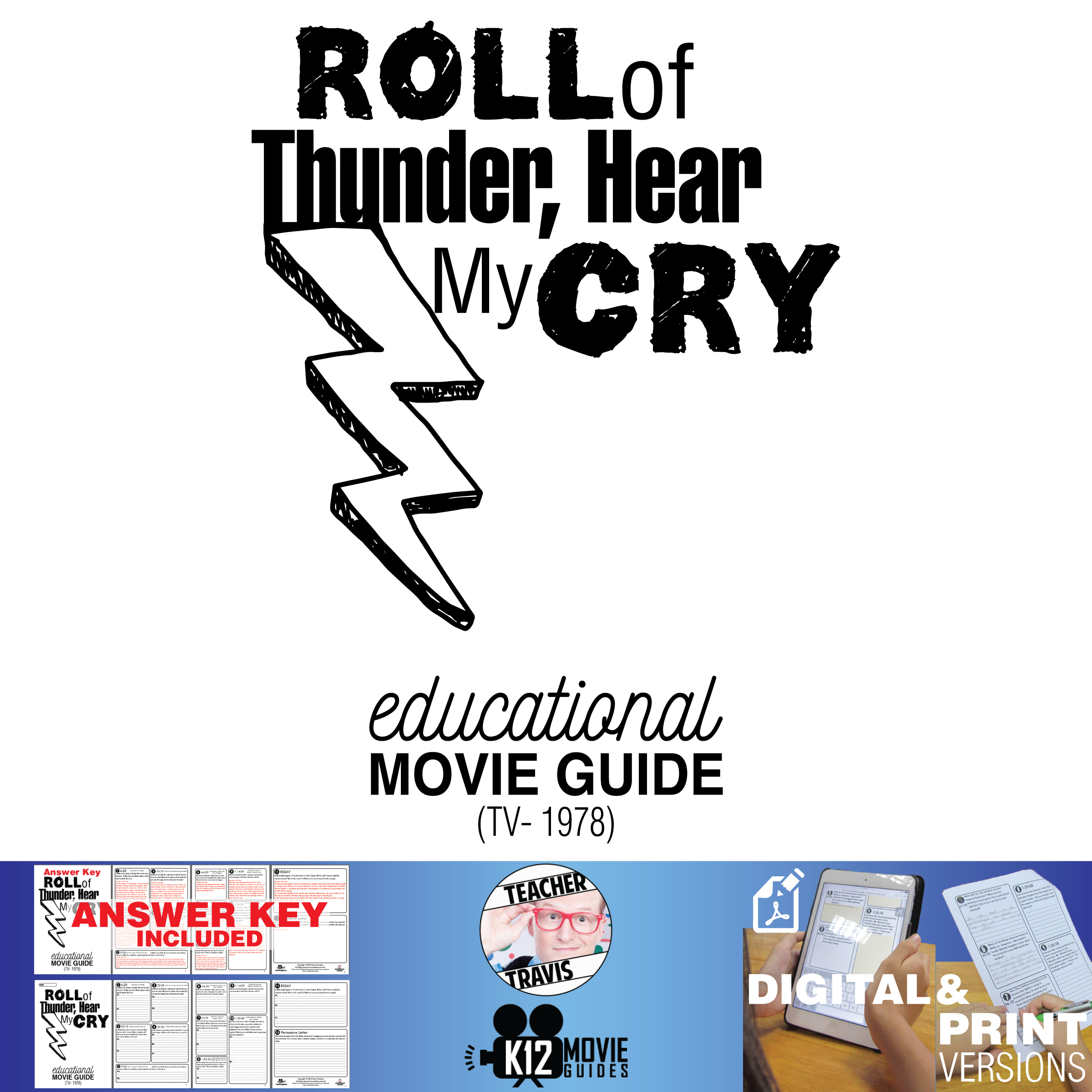 Roll of Thunder, Hear My Cry Movie Guide | Questions | Worksheet (TV - 1978)