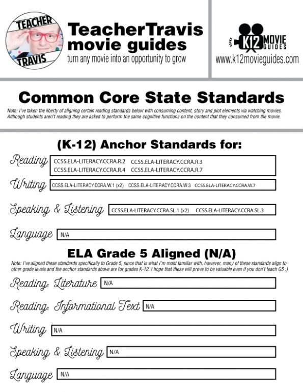 13th Documentary Movie Guide | Questions | Worksheet (TVMA - 2016) CCSS Alignment