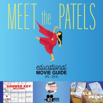 Meet the Patels Movie Guide | Questions | Worksheet (PG - 2014) Cover