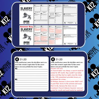 Slavery By Another Name Movie Guide   Questions   Worksheet (TV - 2012) Sample