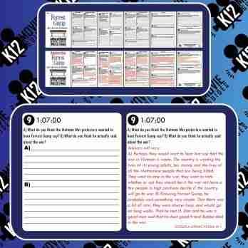 Forrest Gump Movie Guide | Questions | Worksheet | Google Form (PG13 - 1994) Free Sample