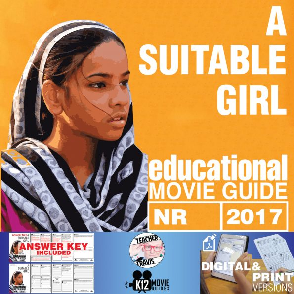A Suitable Girl Documentary Movie Guide | Questions | Worksheet (2017) Cover
