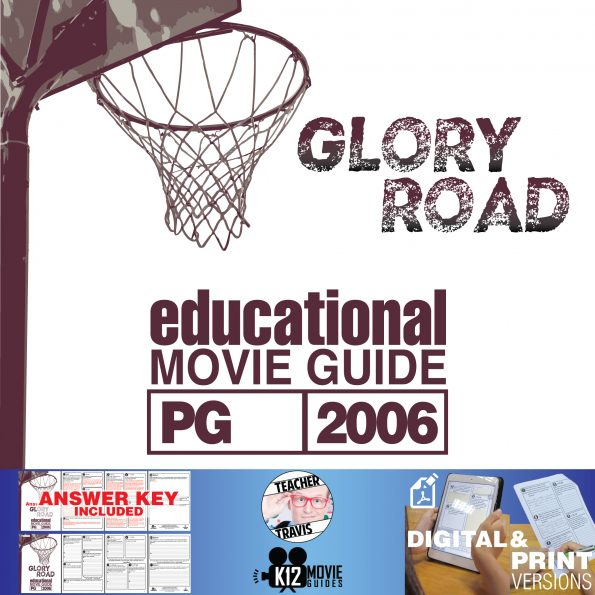 Glory Road Movie Guide | Questions | Worksheet (PG - 2006) Cover