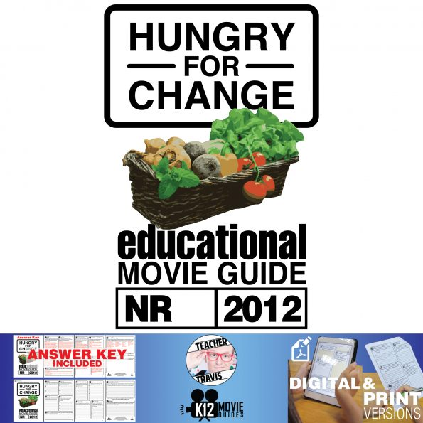 Hungry For Change Documentary Movie Guide | Questions | Worksheet (2012) Cover