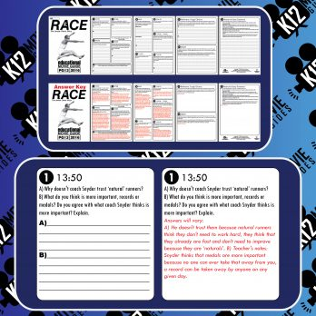 Race (Jessie Owens Story) Movie Guide | Questions | Worksheet (PG13 - 2016) Sample