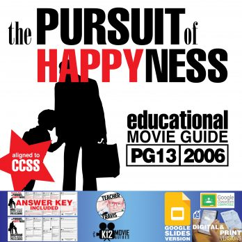 The Pursuit of Happyness Movie Guide | Questions | Worksheet | Google Classroom (PG13 - 2006) Cover