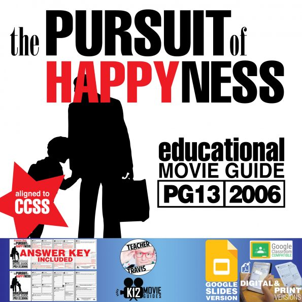 The Pursuit of Happyness Movie Guide   Questions   Worksheet   Google Classroom (PG13 - 2006) Cover